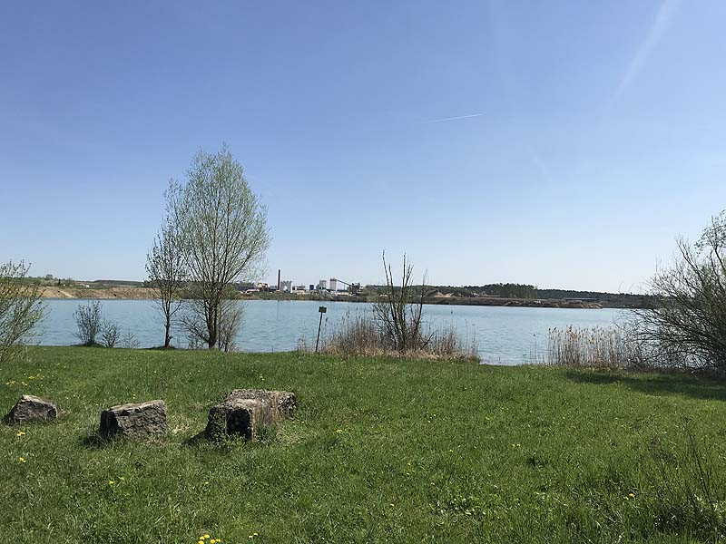 Baggersee in Dettelbach