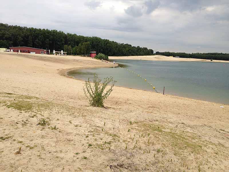 Nacktbaden am Silbersee in Haltern - FKK in Nordrhein