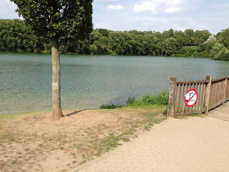 FKK in Braunschweig: Heidbergsee - Impressionen