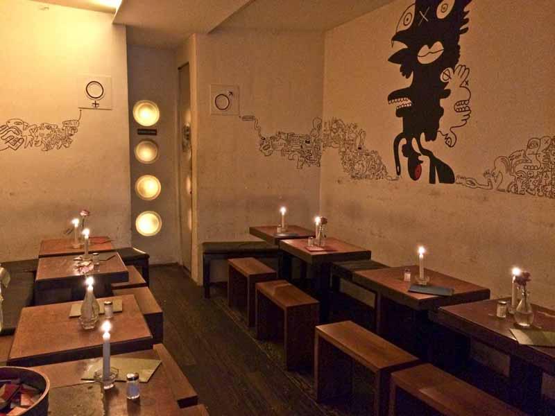 nage sauge bar und restaurant in m nchen. Black Bedroom Furniture Sets. Home Design Ideas