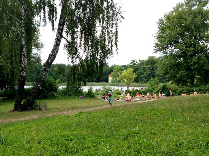 Nacktbaden am Heiligen See in Potsdam - FKK in Brandenburg